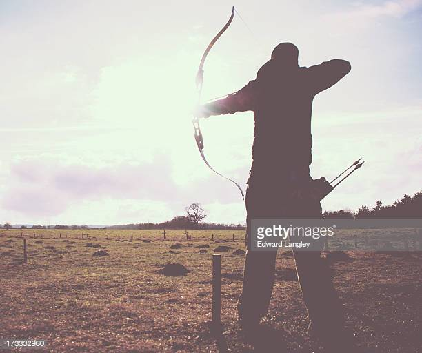 Shooting arrows in the sunlight