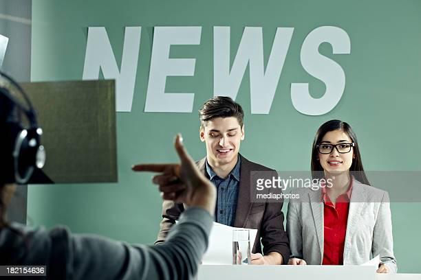 Tiro programa de noticias