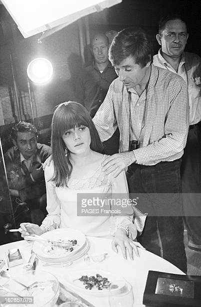 Shooting Of The Film 'A Coeur Joie' By Serge Bourguignon En 1966 sur le plateau de tournage du film 'A coeur joie' le réalisateur Serge BOURGUIGNON...