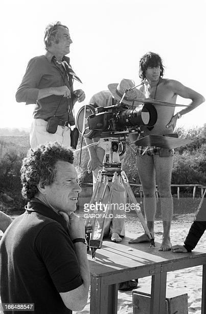 Shooting Of The Film ' Bilitis' By David Hamilton France 20 septembre 1976 Lors du tournage du film 'BILITIS' de David HAMILTON celuici au...