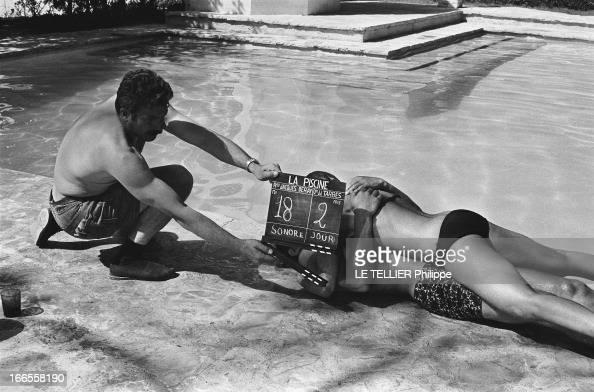Alain delon the swimming pool foto e immagini stock for Alain delon la piscine streaming