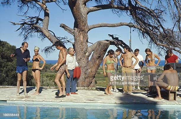 Romy schneider la piscine photos et images de collection getty images - Maison du film la piscine ...