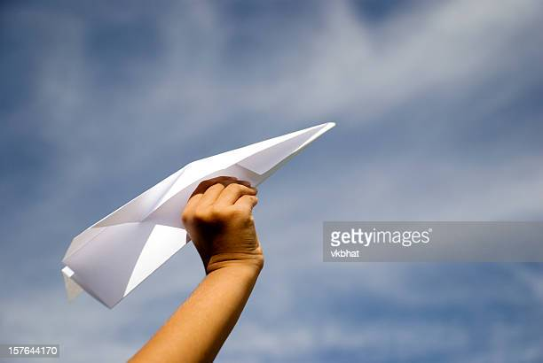 Shooting Papierflugzeug