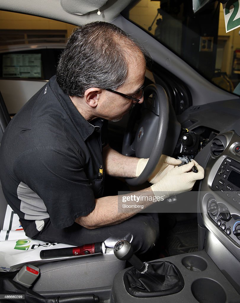 Faulty Ignition Switch Repair At A General Motors Dealership