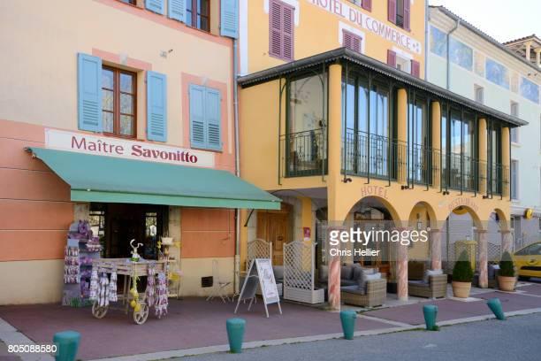 Shop Front & Hotel Castellane Alpes-de-Haute-Provence france