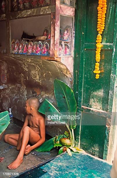 Shop in Kumartuli Kolkata West Bengal India