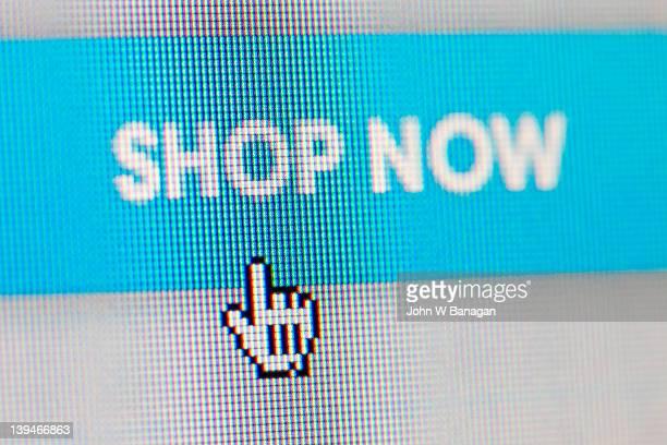 Shop now, internet sign