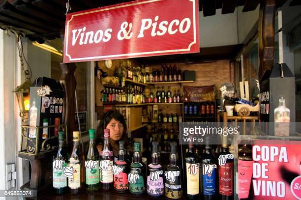 Shop of peruvian wines and piscos sale in Lima Peru