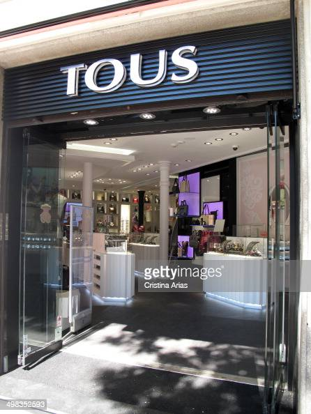 tous store in salamanca district madrid pictures getty