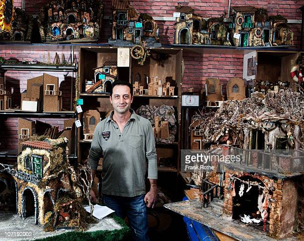 shop owner and craftsman in his shop