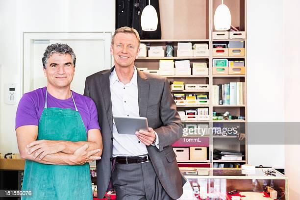 Shop Owner and Craftsman