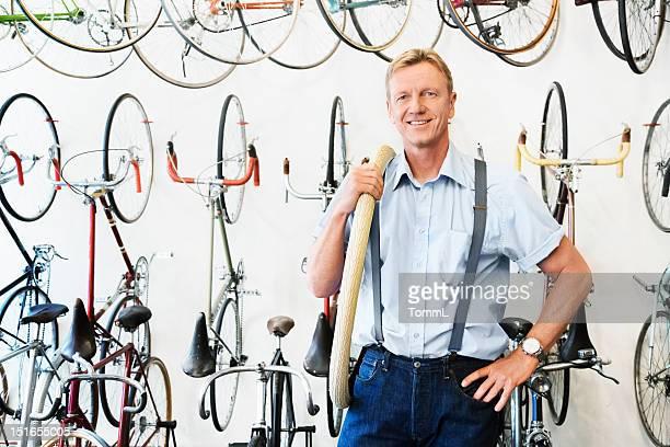 Shop Owner in Bike Store