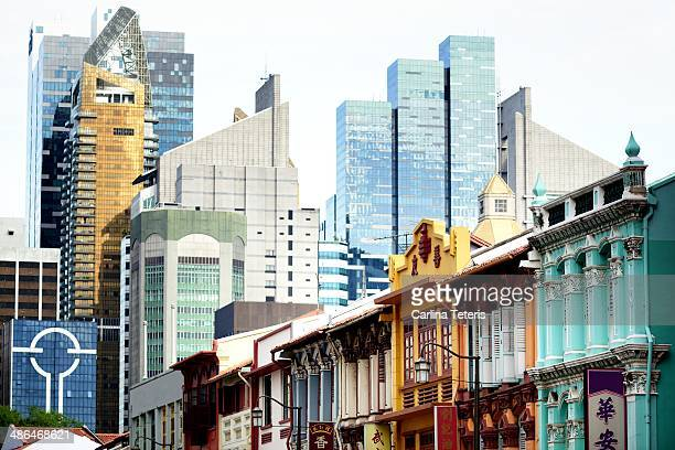 Shophouses and skyscrapers