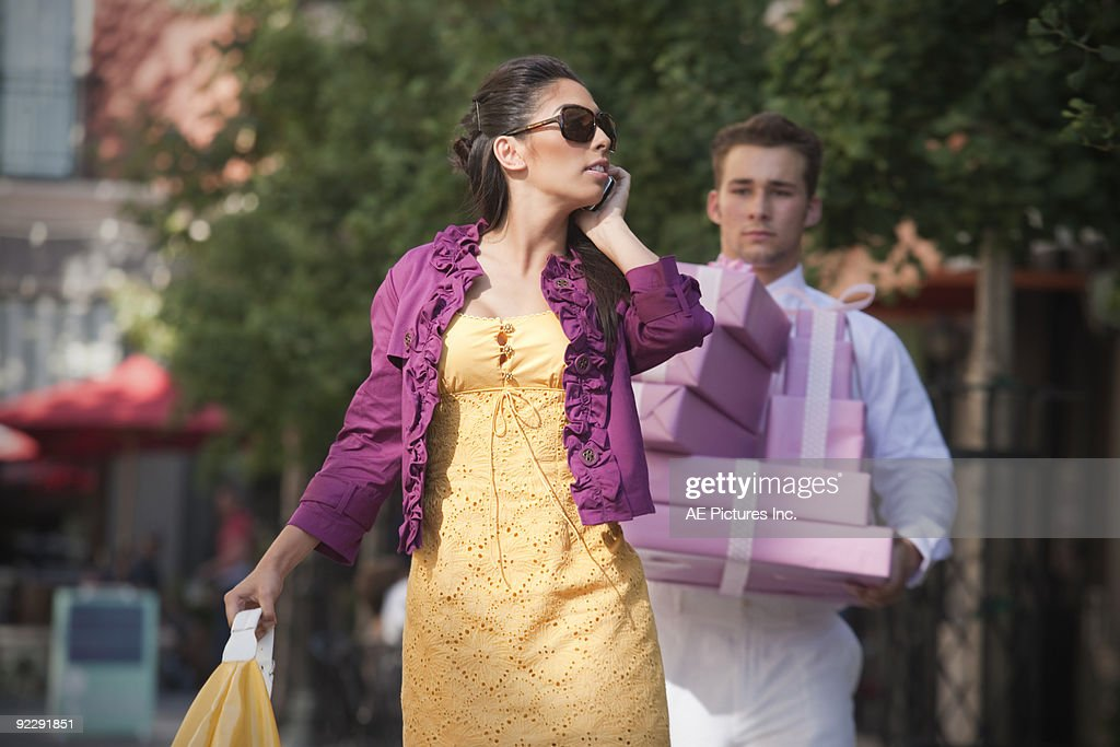 Shopoholic : Stock Photo