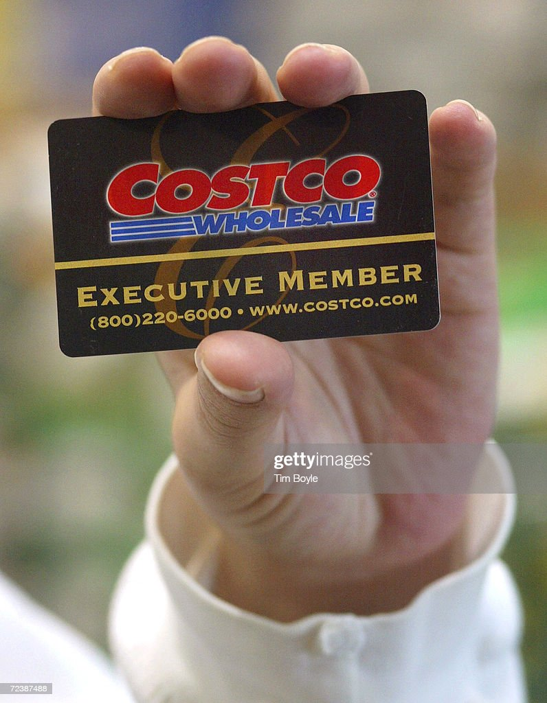 costco whole corporation stock photos and pictures getty images a shopper displays her costco whole membership card as she enters a costco whole store