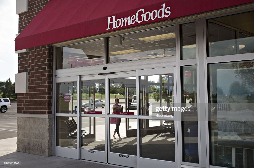 A Shopper Enters A HomeGoods Store In Peoria Illinois US On Sunday Aug 14  2016 The