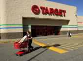 A shopper leaves a Target store in Raleigh North Carolina US on Tuesday Feb 24 2009 Target Corp the secondlargest discount chain said fourthquarter...