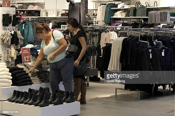 Shoppers browse the stores at the Westfield Santa Anita Mall on Oct 29 2013Retail sales for September released by government likely to show lukewarm...