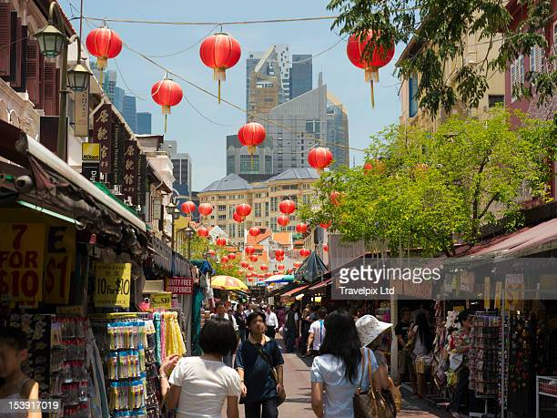 Shoppers, Chinatown, Singapore