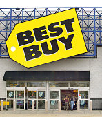 Shoppers enter a Best Buy store August 11 2003 in Niles Illinois Best Buy Co Inc raised its estimate for secondquarter diluted earnings per share...