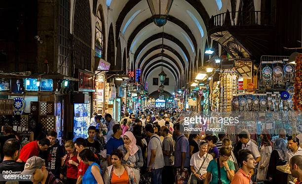 Shoppers in the Spice Market