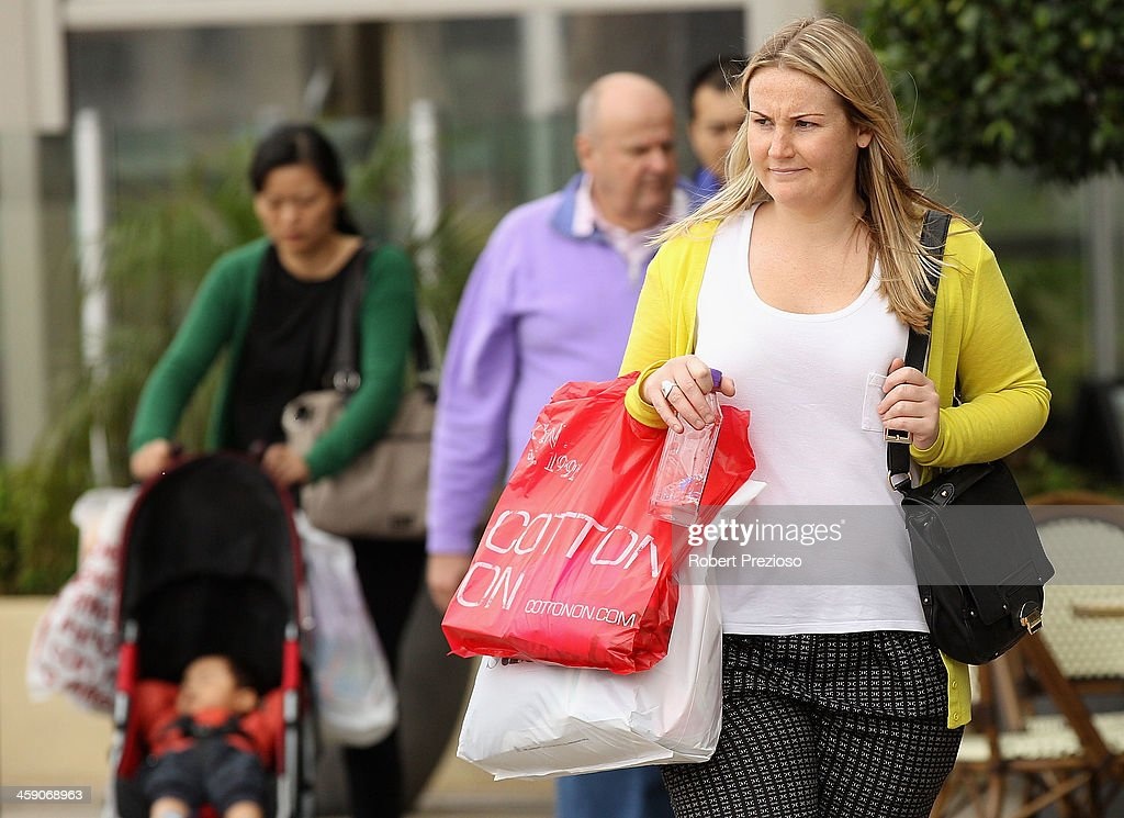 Shoppers search for items on December 23, 2013 in Melbourne, Australia. Chadstone shopping Centre is open for 34 hours straight from today until Christmas eve, giving shoppers every chance to complete their Christmas shopping.