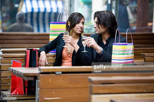 shopping: a welcome break