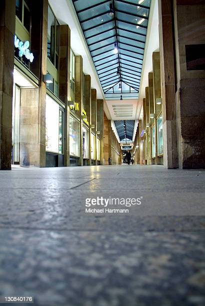 Shopping arcade, Stuttgart, Germany