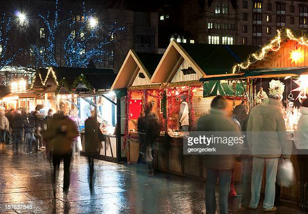 Shopping at Christmas Markets