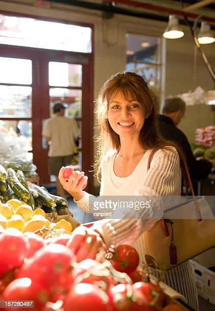 Shopping im the Market