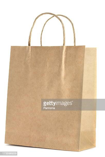 Sac de Shopping sur blanc