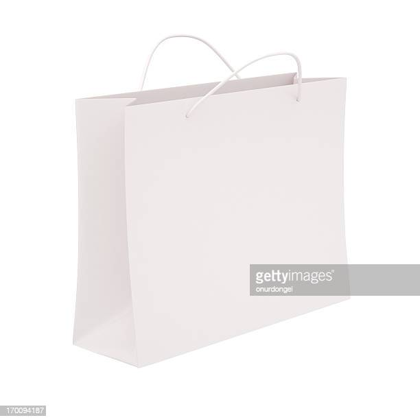 Shopping bag with clipping path