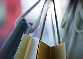 Shopping bags, close-up
