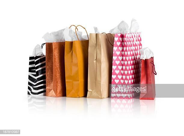 Einkaufstaschen Mit clipping path