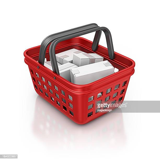 shopping basket and product