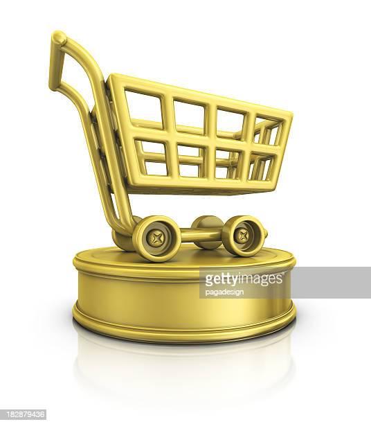 shopping cart award