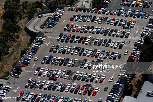 Shopping Centre Car Park, Western Sydney, Aerial Photography