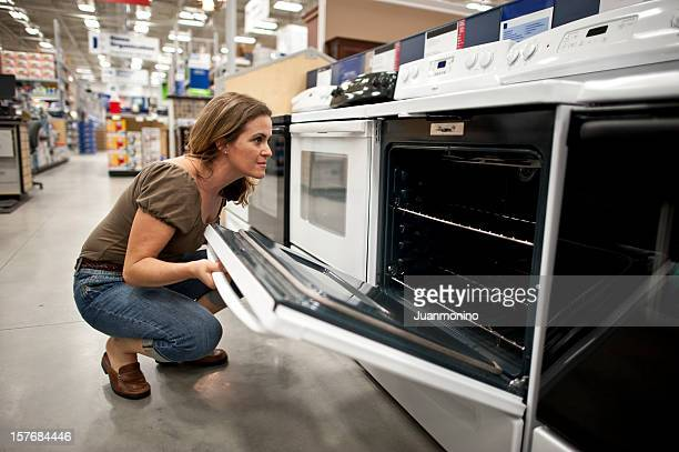 shopping for a new kitchen stove