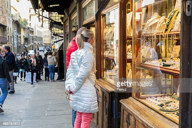 Shopping for Gold on the Ponte Vecchio
