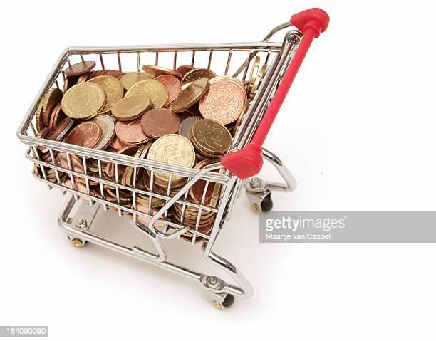 Shopping für Geld