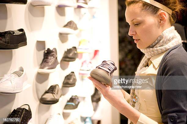 Shopping for sport shoe