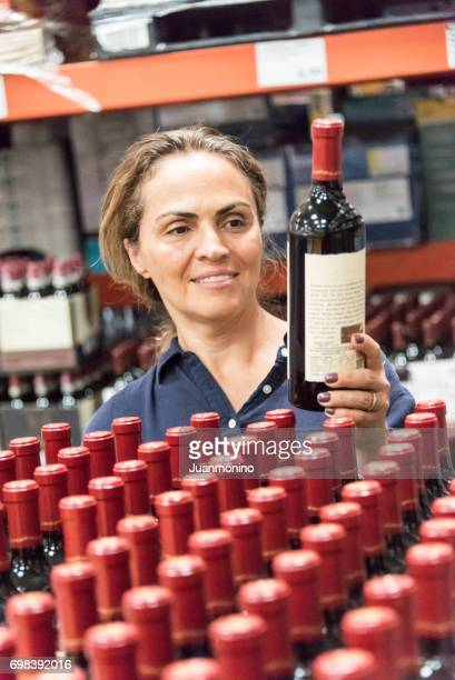 Shopping für Wein