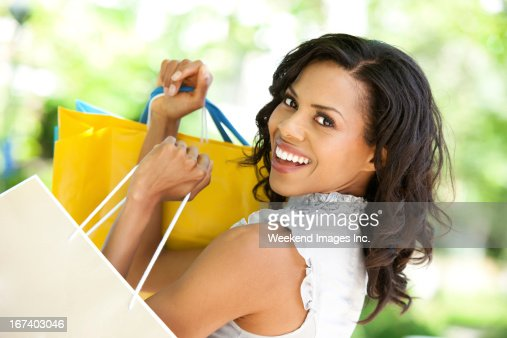 Shopping girl : Stock Photo
