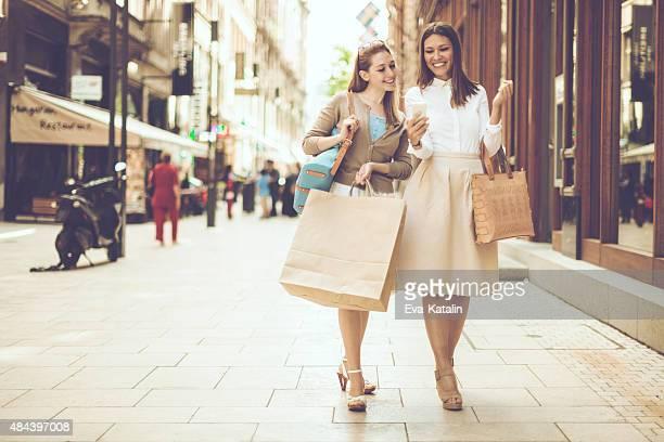 Shopping in der Stadt