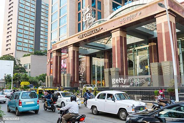 Shopping Mall entrance in Bangalore, India