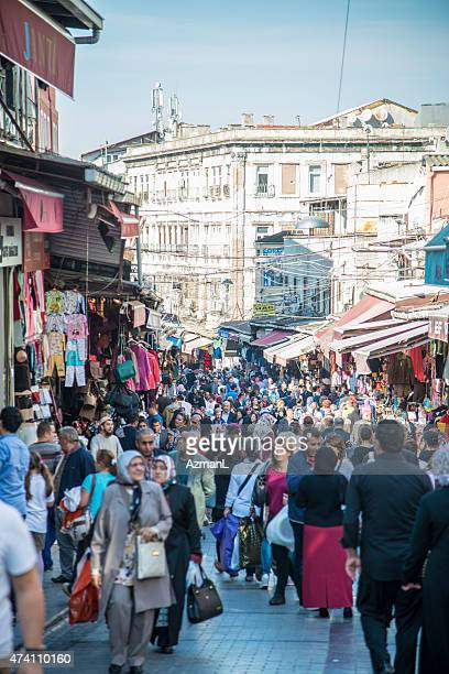 Shopping on Streets of Istanbul