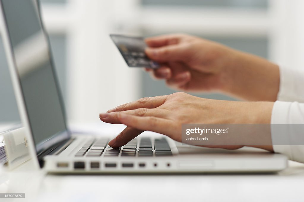 Shopping online : Stock Photo