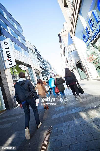 Shopping Personen in Köln
