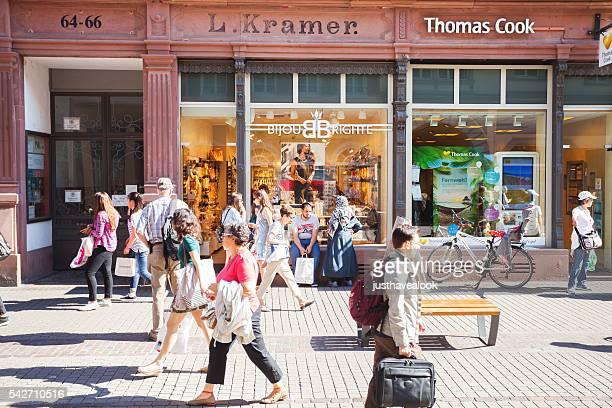 Einkaufen Personen in Heidelberg