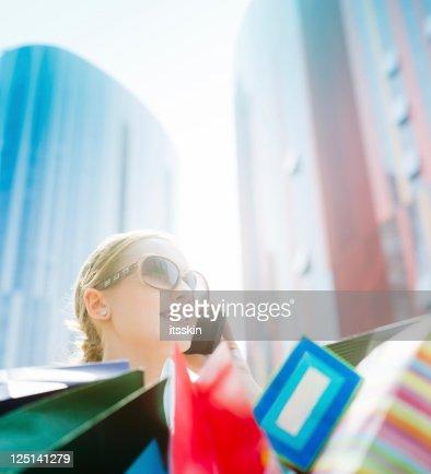 Shopping : Foto de stock